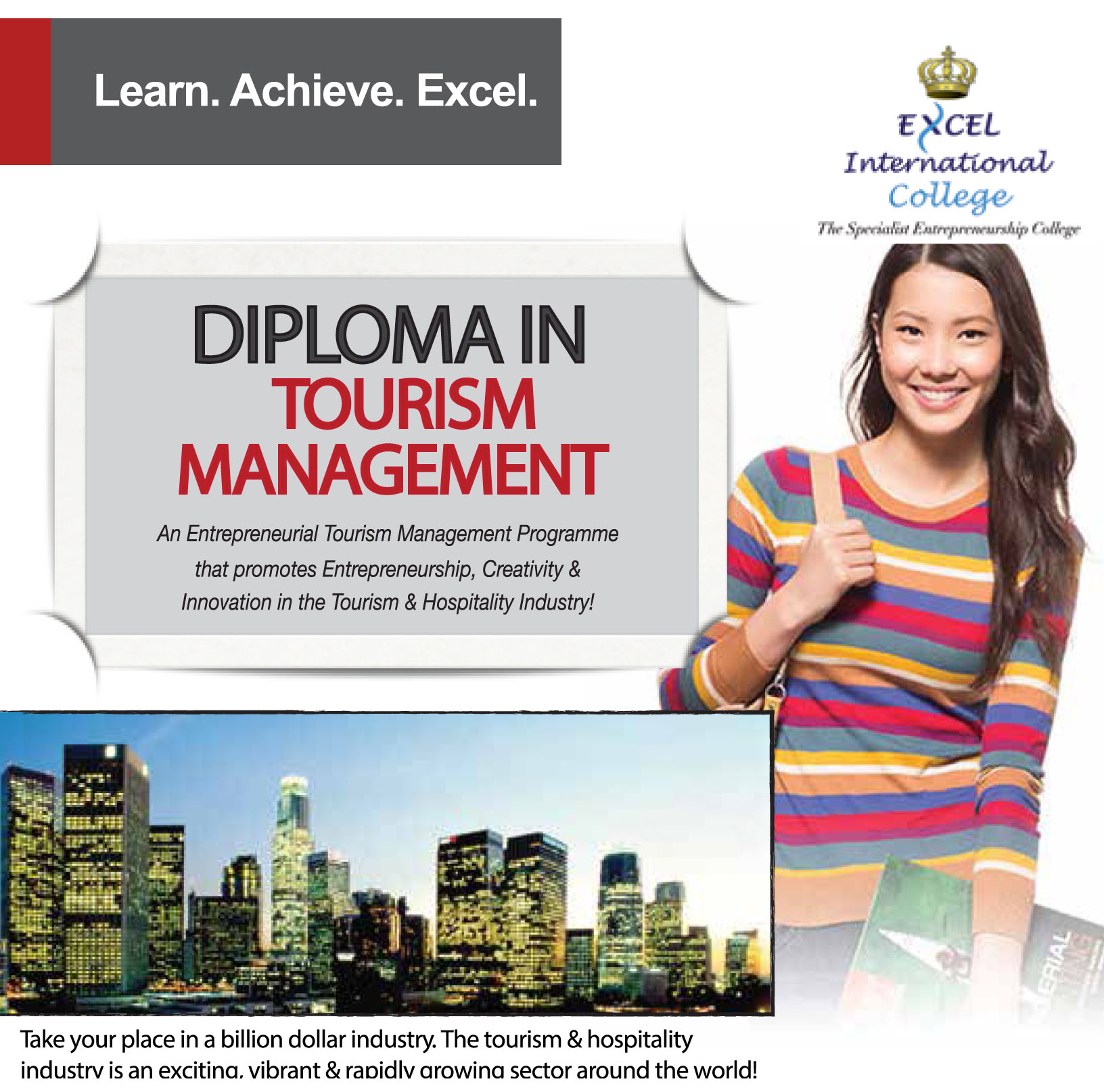 diploma in tourism management mqa a 10446